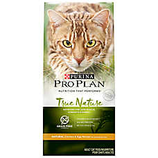 Purina® Pro Plan® TRUE NATURE™ Adult Cat Food - Natural, Grain Free, Chicken & Egg