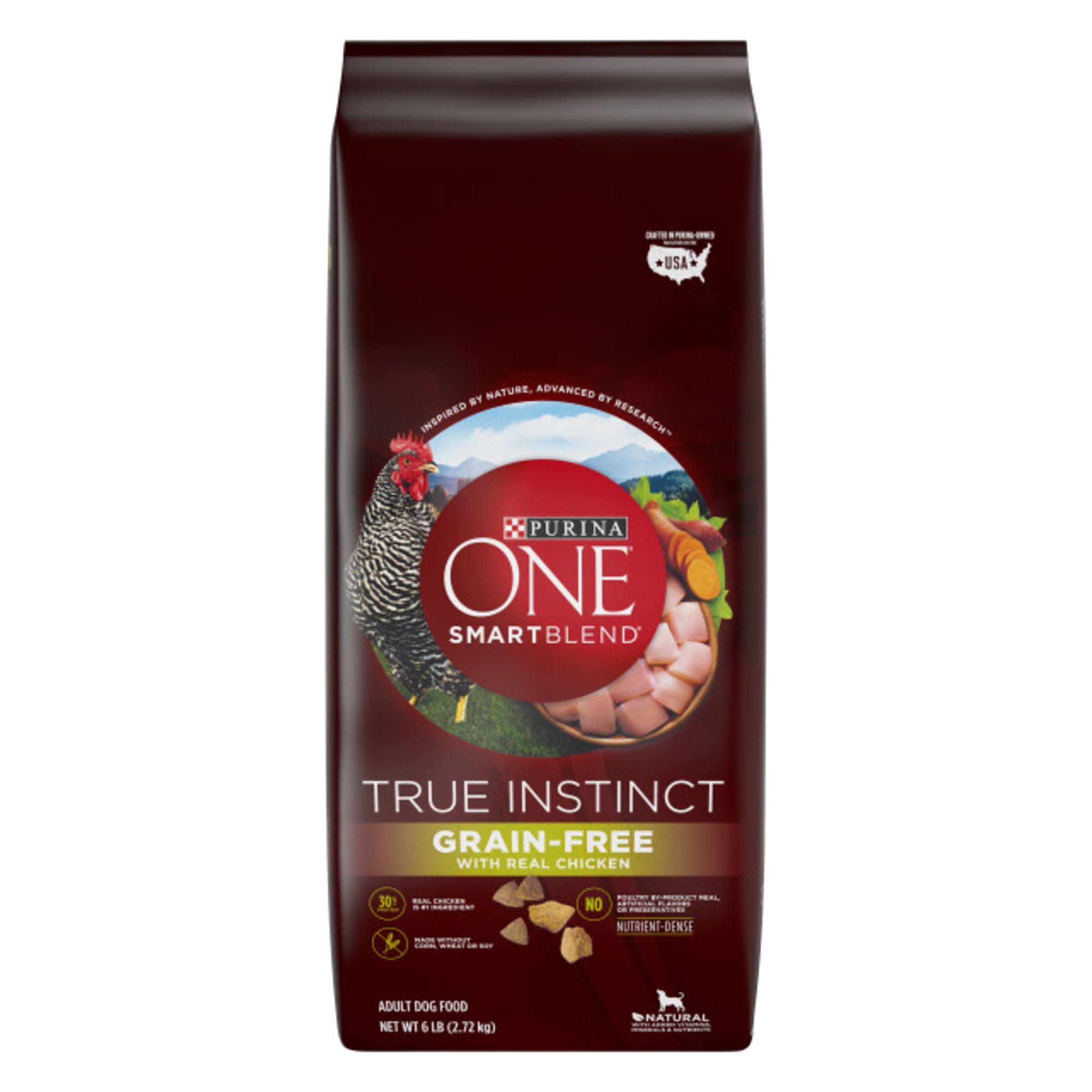 Purina One Smartblend True Instinct Adult Dog Food Grain Free Chicken Sweet Potato