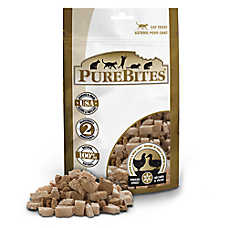 PureBites® Natural, Feeze Dried Chicken and Duck Liver Cat Treat