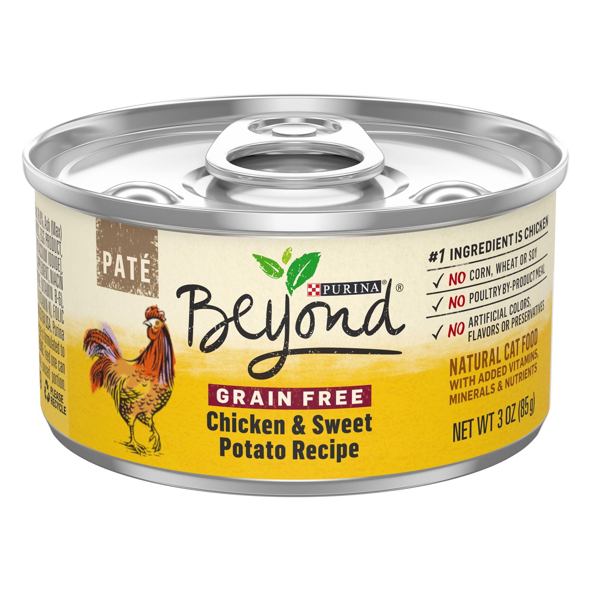 Purina Beyond Cat Food >> Purina Beyond Cat Food Natural Grain Free Chicken Sweet Potato