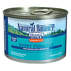Natural Balance Original Ultra Whole Body Health Puppy Food- Gluten Free, Chicken, Duck & Brown Rice