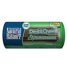 Natural Balance Limited Ingredient Grain Free Fresh & Clean Small Dog Dental Chews