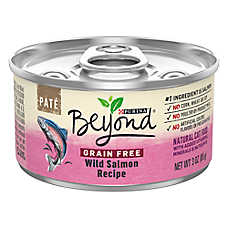 Purina® Beyond® Natural Cat Food - Grain Free, Wild Salmon, Pate