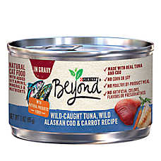 Purina® Beyond® Natural Cat Food - Grain Free, Tuna, Mackerel & Carrot