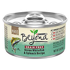 Purina® Beyond® Natural Cat Food - Grain Free, Ocean Whitefish & Spinach, Pate