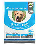 Only Natural Pet Canine PowerFood Dog Food- Limited Ingredient, Natural, Grain Free, Fish