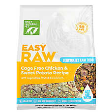 Only Natural Pet EasyRaw Dog Food - Raw, Grain Free, Dehydrated, Chicken & Oats