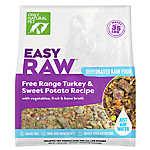 Only Natural Pet EasyRaw Dog Food - Raw, Grain Free, Dehydrated, Turkey & Sweet Potato