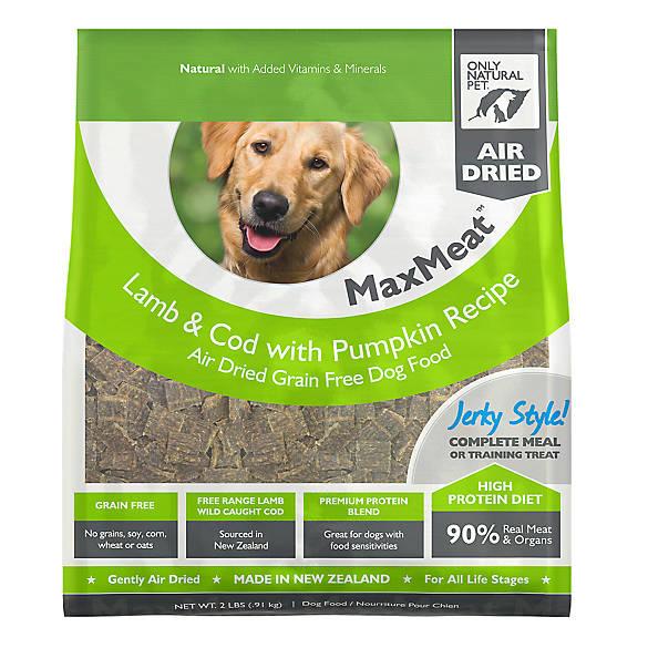Only Natural Pet Dog Food Lamb Cod