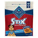 BLUE STIX Pepperoni Style Dog Treat - Natural, Chicken Recipe