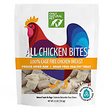 Only Natural Pet Freeze Dried Chicken Bites Treat