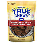 True Chews® Premium Grillers Dog Treat - Natural, Sirloin Steak
