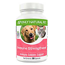 Only Natural Pet® Immune Strengthener Immune System Support Capsules