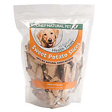 Only Natural Pet Sweet Potato Slices Dog Treat