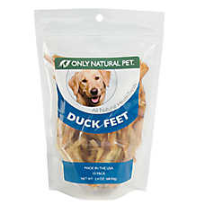 Only Natural Pet Grain Free, Gluten Free Duck Feet Chew Dog Treat