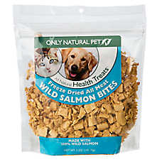 Only Natural Pet® Freeze Dried Wild Salmon Bites Treat