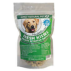 Only Natural Pet Fresh Kisses Breath & Tarter Biscuits Dog Treat