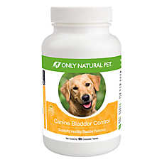 Only Natural Pet® Canine Bladder Control Chewable Tablets