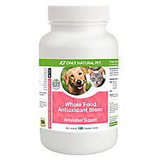 Only Natural Pet® Whole Food Antioxidant Blend Chewable Tablets