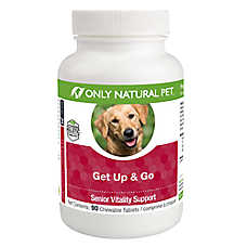 Only Natural Pet® Get Up & Go Senior Vitality Support Chewable Tablets