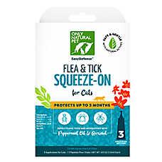 Only Natural Pet Cat Flea, Tick & Mosquito Treatment