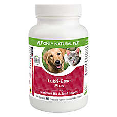 Only Natural Pet® Lubri-Ease Plus Hip & Joint Chewable Tablets
