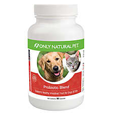 Only Natural Pet® Probiotic Blend Intestinal Tract Support Capsules