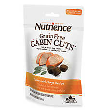 Nutrience® Grain Free Cabin Cuts Turkey & Sage Dog Treat