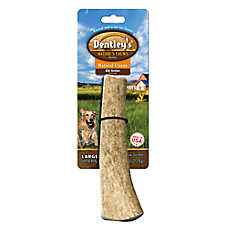 Dentley's® Nature's Chews Colossal Split Elk Antler Large Dog Treat - Natural