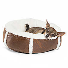 Best Friends by Sheri Bumper Bolster Dog Bed