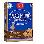 Cloud Star® Wag More Bark Less Dog Treat - Natural, Bacon, Cheese & Apple