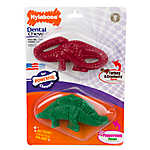 Nylabone® Holiday Dinosaur Dental Chew Dog Toy - 2 Pack