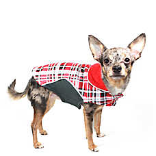 Hip Doggie Reversible Fleece Wrap Coat