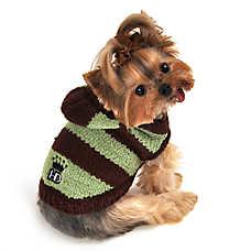 Hip Doggie Soft Stripe Hoodie