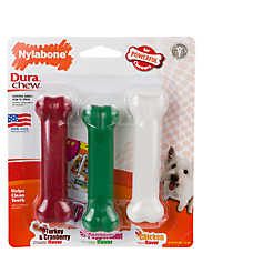 Nylabone® DuraChew® Holiday Chew Dog Toys - 3 Pack