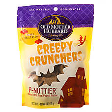 Old Mother Hubbard Creepy Crunchers Dog Treat - Natural, Peanut Butter