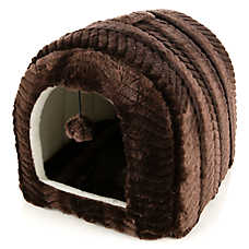 Whisker City® Enclosed Cat Bed