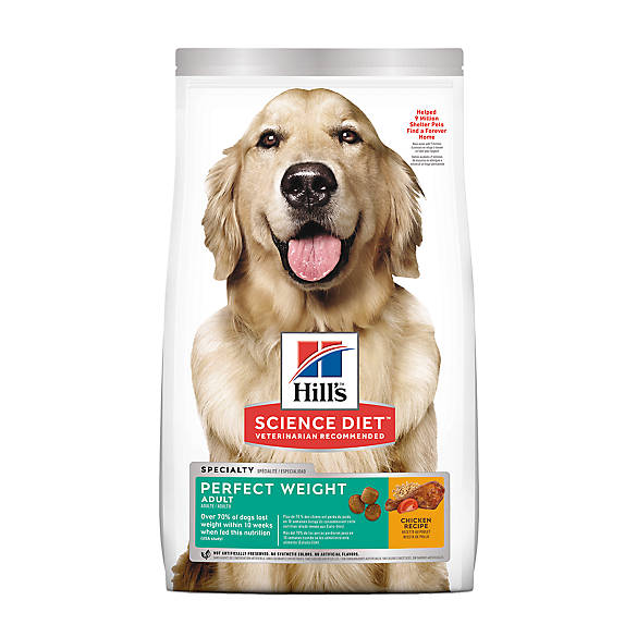 Hills® Science Diet® Perfect Weight Adult Dog Food
