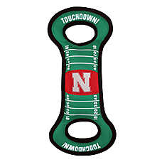 Nebraska Cornhuskers NCAA Field Dog Toy
