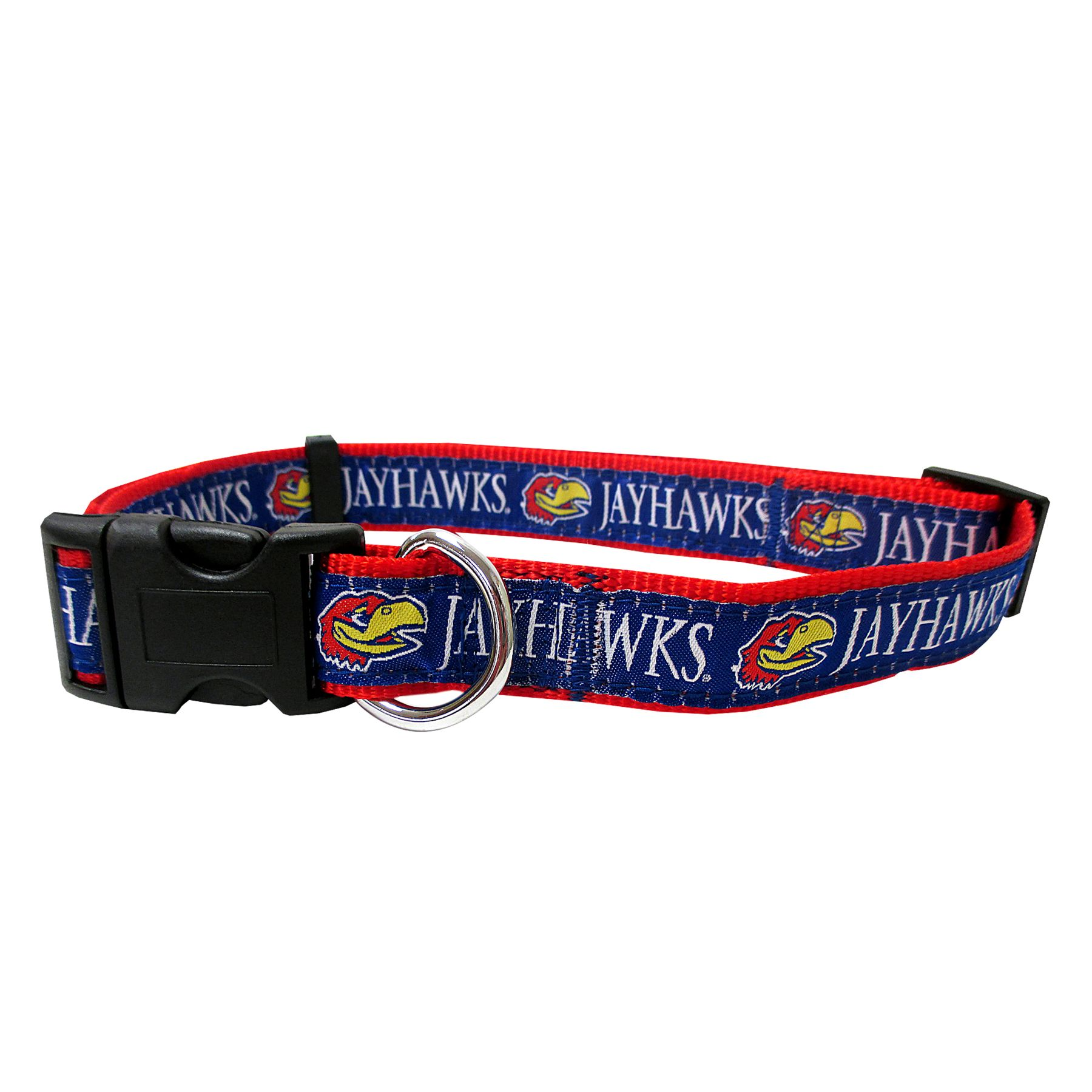 Pet Goods NCAA Kansas Jayhawks Dog Collar Medium