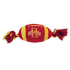 Iowa State University Cyclones NCAA Football Dog Toy