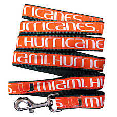 University of Miami Hurricanes NCAA Dog Leash