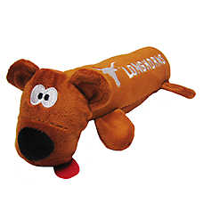 University of Texas Longhorns NCAA Tube Dog Toy