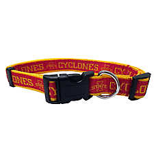 Iowa State University Cyclones NCAA Dog Collar