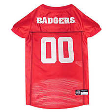 Pets First Wisconsin Badgers NCAA Jersey