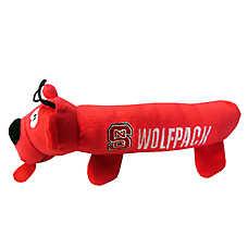 North Carolina State Wolfpack NCAA Tube Dog Toy