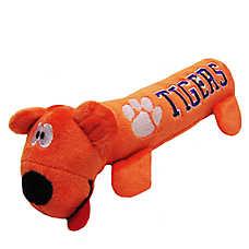 Clemson University Tigers NCAA Tube Dog Toy
