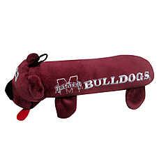 Mississippi State University Bulldogs NCAA Tube Dog Toy