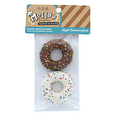 Molly's Barkery Drizzled Donuts Dog Treat (COLOR VARIES)