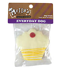 Molly's Barkery Drizzled Cupcake Dog Treat (COLOR VARIES)